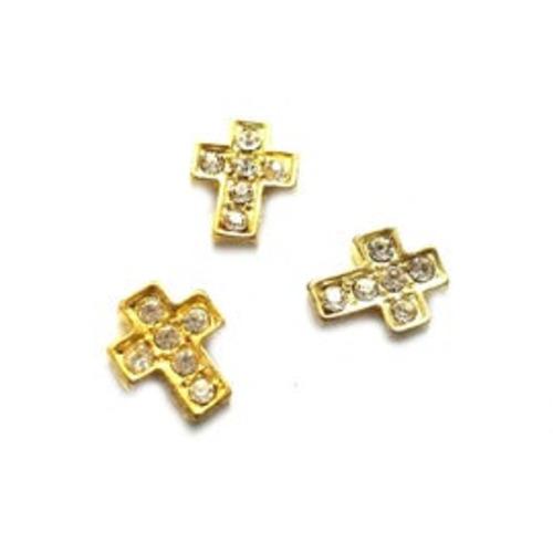 Diamante Cross (Gold)