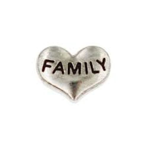 Family Heart (Silver)