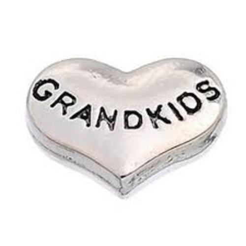 Grandkids Heart (Silver)
