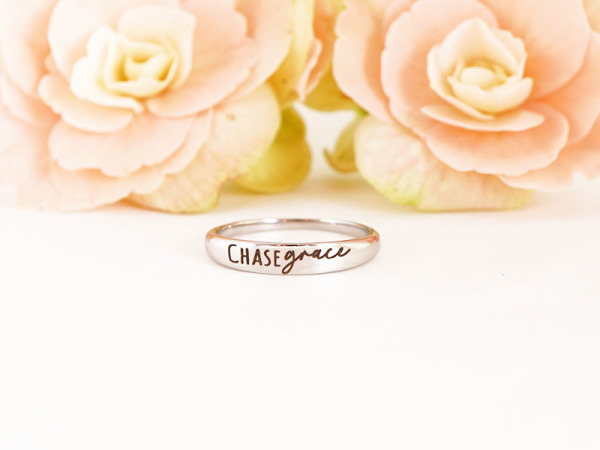 "Stacker Ring - ""Chase Grace"""