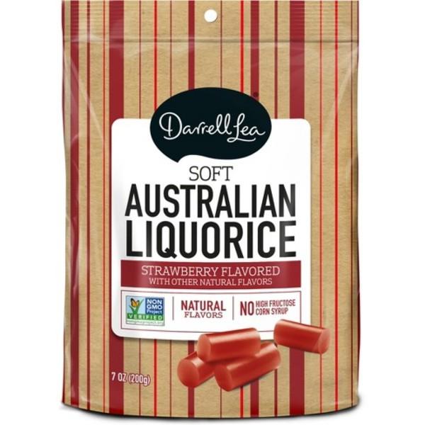 Darrell Lea Soft Eating Red Liquorice (200g)