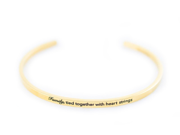 """Heart Strings"" Bracelet"