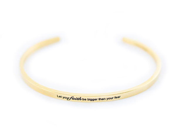 """Your Faith"" Bracelet"