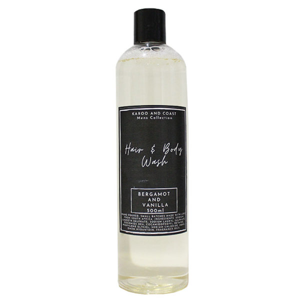 Karoo & Coast Mens Hair & Body Wash (500ml)