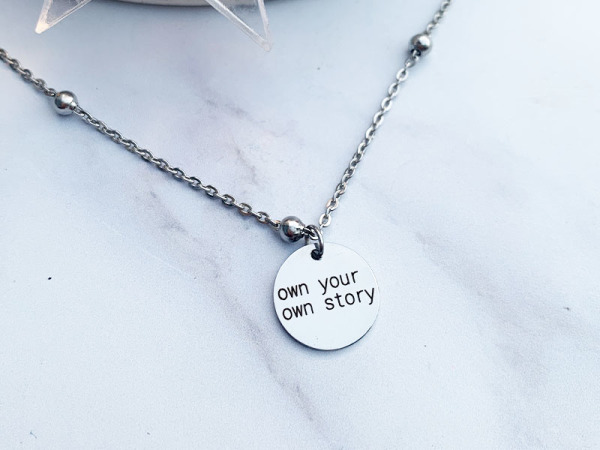 """""""Own your own story"""" Ball Chain Petite Set"""