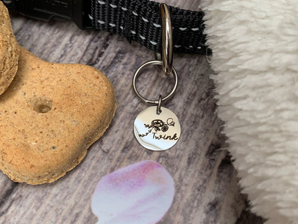 Pup/Kitty Tag - Single Floral