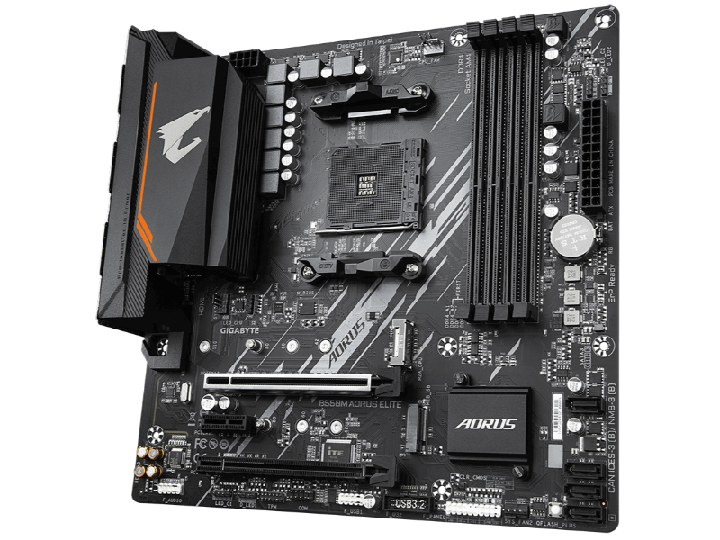 Gigabyte B550m Aorus Elite Amd Am4 Socket Micro