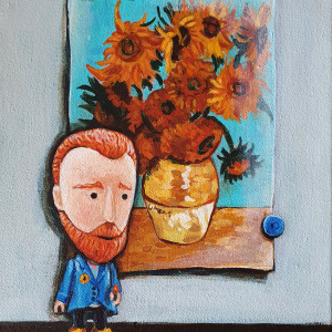 Vincent loves sunflowers