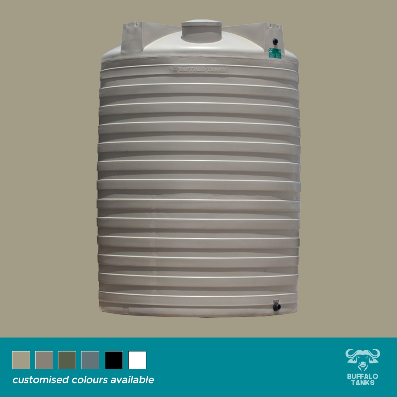 Buffalo Tanks Products -  10 000 L Water Tank