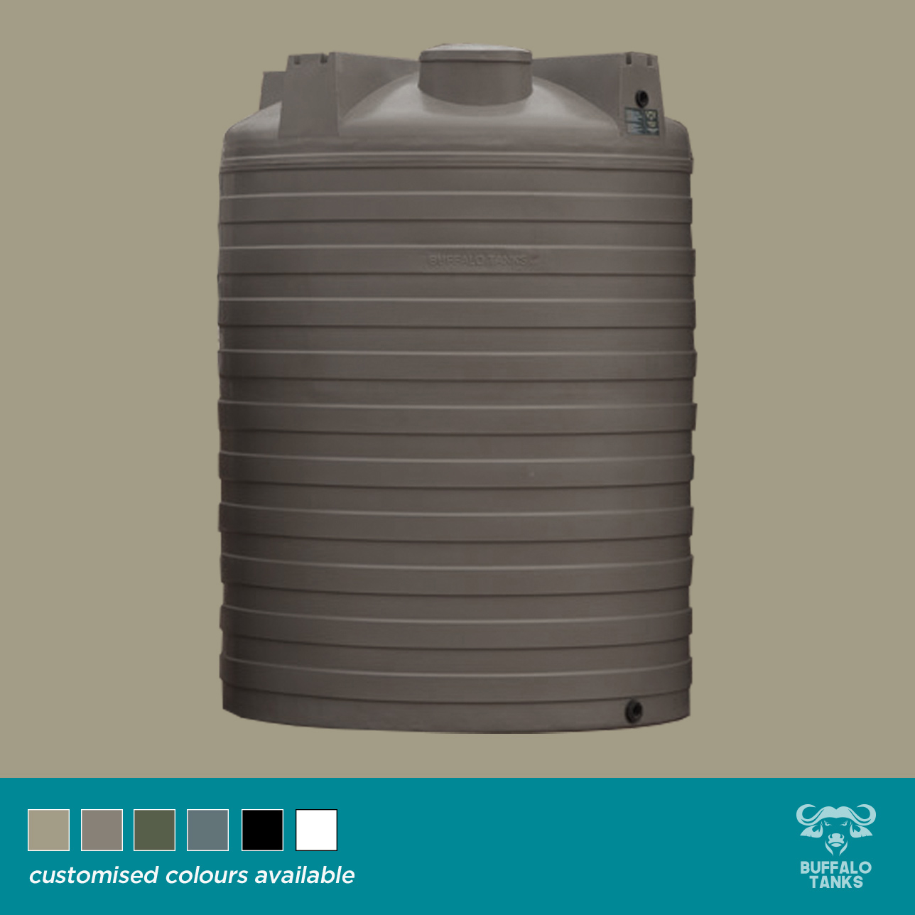 Buffalo Tanks Products -  5000 L Water Tank