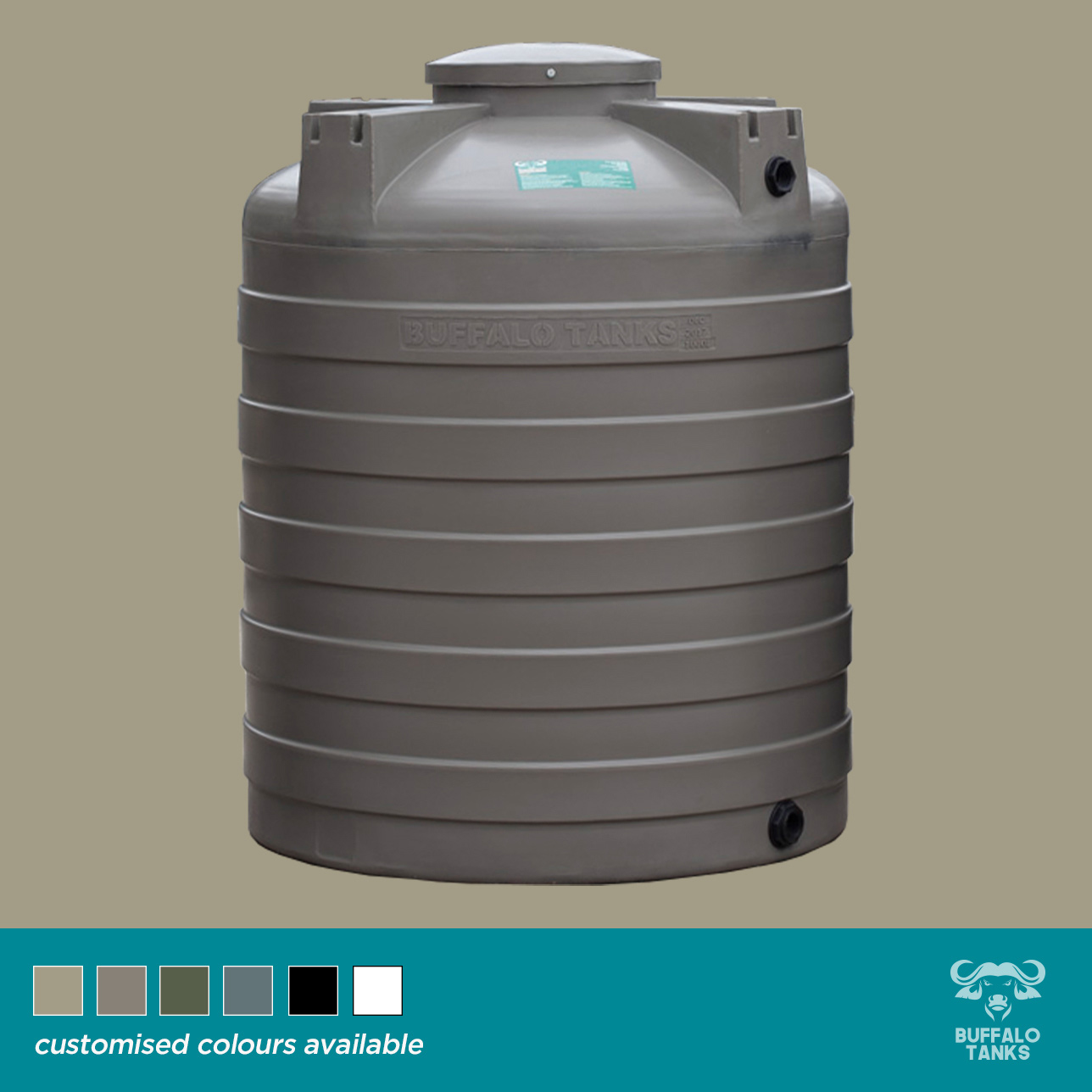 Buffalo Tanks Products -  1 000 L Water Tank