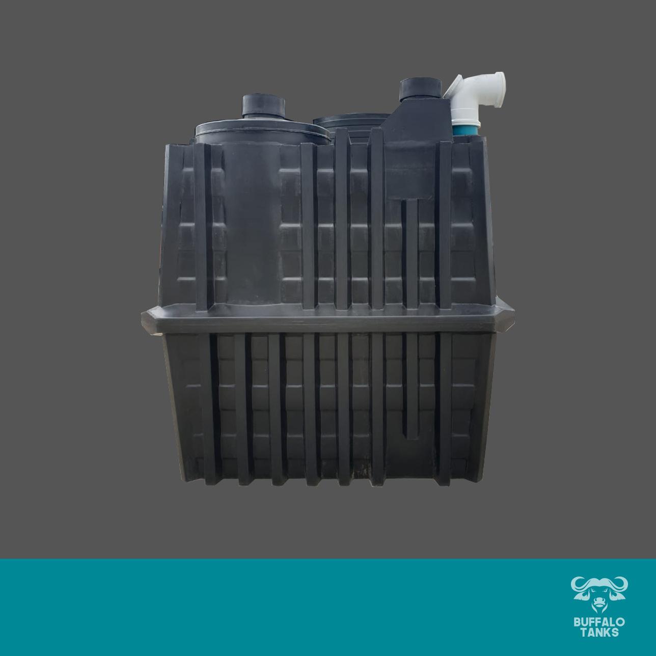 Buffalo Tanks Products -  850L Bio-Separator with 50L Wall Tank