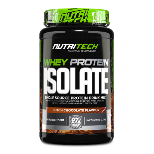 NUTRITECH WHEY PROTEIN ISOLATE