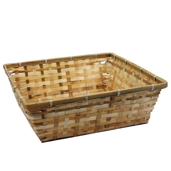 Square Bamboo Tray