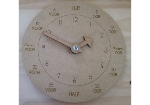 MY CLOCK ENGLISH AND AFRIKAANS