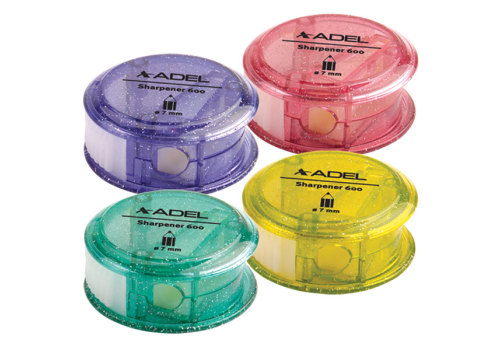 SHARPENER 1 HOLE ADEL WITH CONTAINER