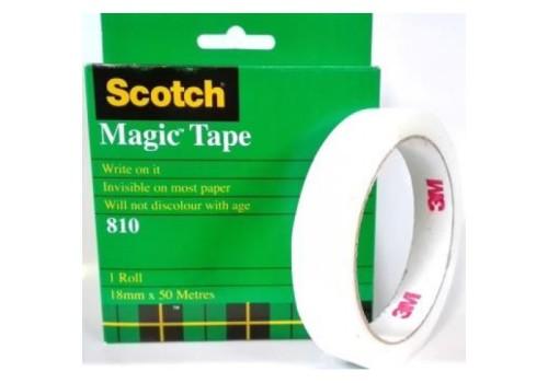 TAPE SCOTCH MAGIC 18X50M
