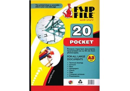 FLIP FILE KANGAROO A4 20 PG
