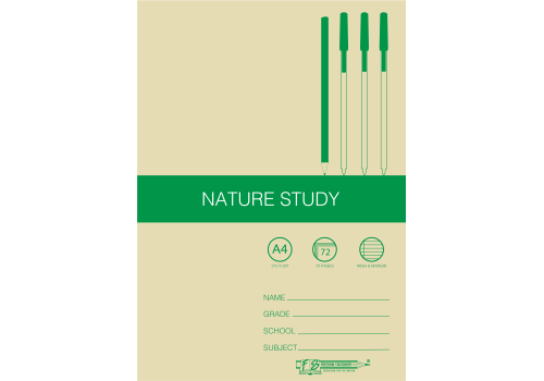 EX BOOK A4 072PG IRISH NATURE STUDY
