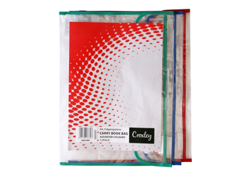BOOK BAG CROXLEY PVC WITH VELCRO