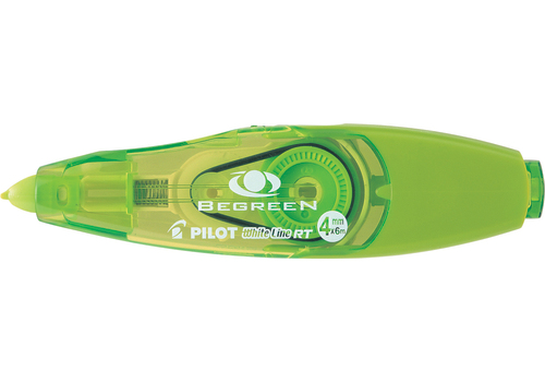 CORRECTION TAPE PILOT 4MM & REFILL GREEN