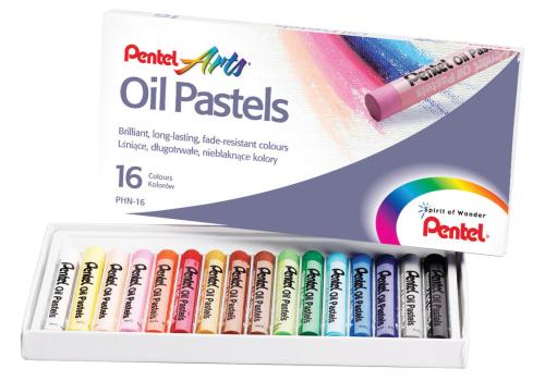 OIL PASTELS PENTEL 16PCS