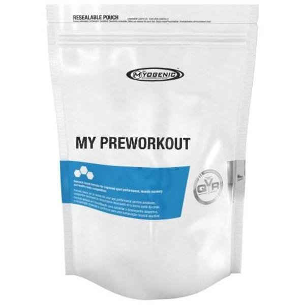 MYOGENIC MY PREWORKOUT