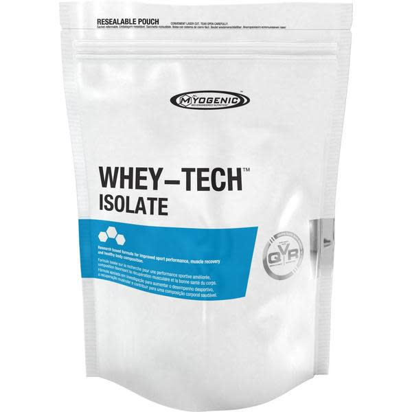 MYOGENIC WHEY-TECH ISOLATE 1KG