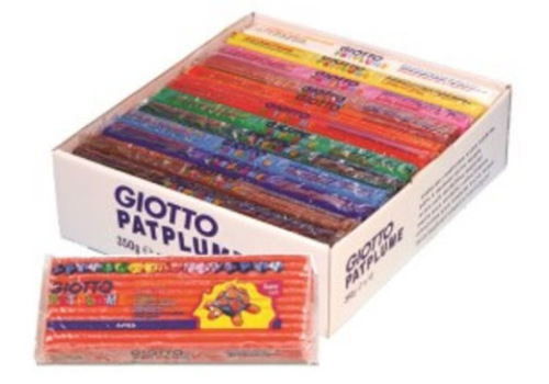 CLAY GIOTTO PONGO 250G ASST COLOURS