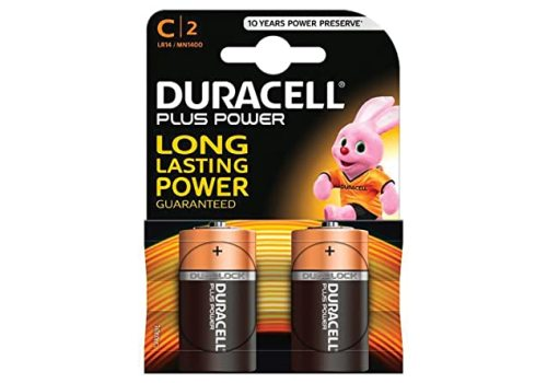 BATTERY C DURACELL PLUSPOWER 2