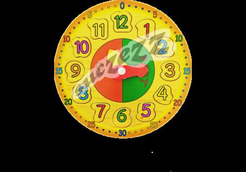 PUZZLE 12PC SUCZEZZ WOODEN CLOCK