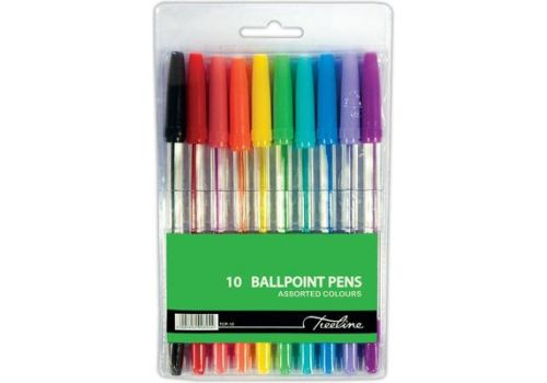 PEN TREELINE BALL M ASSTD 10