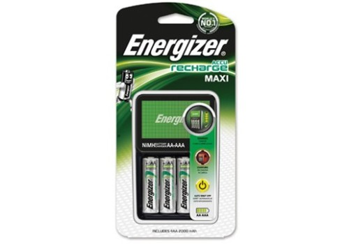 BATTERY AAA & AA ENERGIZER CHARGER