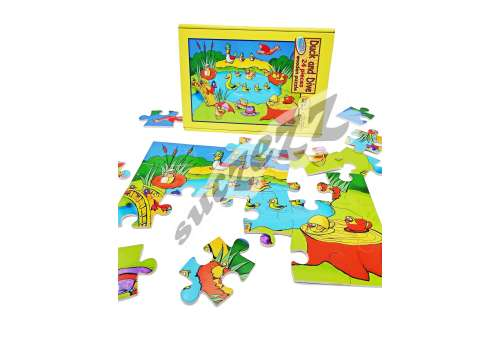 PUZZLE 24PC SUCZEZZ DUCK AND DIVE