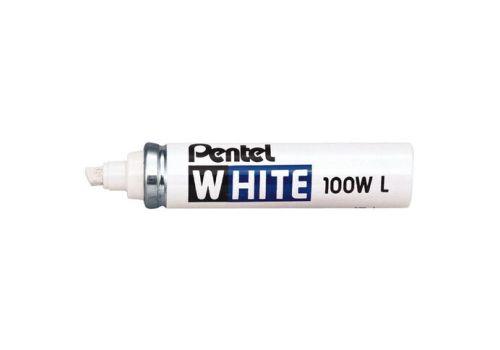 MARKER PERM PENTEL 100WL WHITE