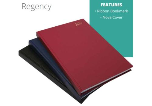 DIARY 2021 A4 PAD REGENCY - SPECIAL WHILE STOCKS LAST