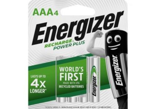 BATTERY AAA ENERGIZER RECHARGE 4