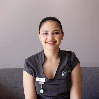 Sanguine team - Shona Peterson