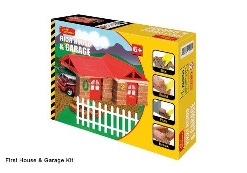 KIT BRICK HOUSE GARAGE