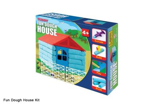 DOUGH BUILD A FUN HOUSE