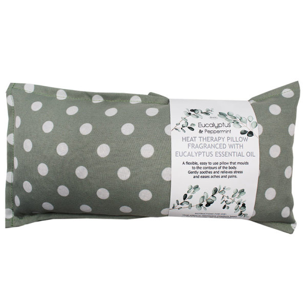 Eucalyptus Infused Wheat Therapy Pillow (Assorted)