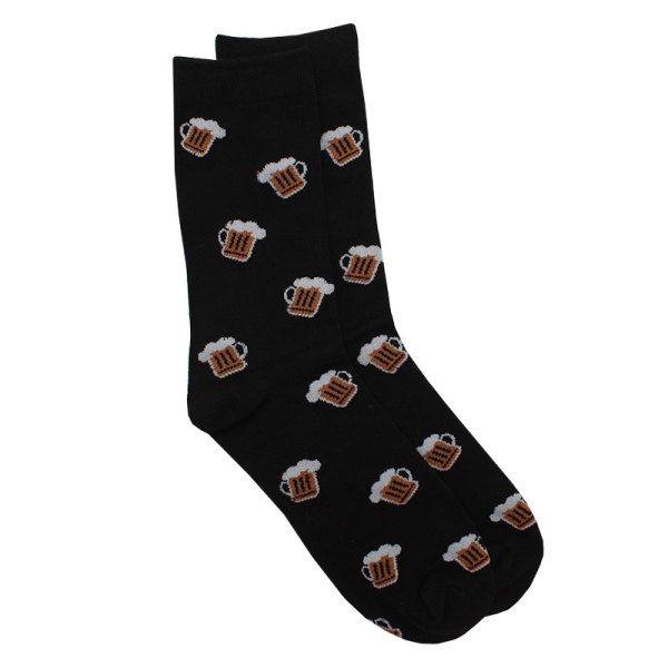 Black Beer Socks (One Size Fits Most)