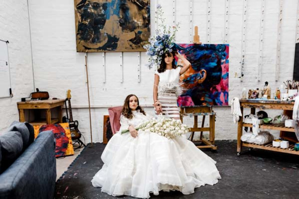 Haute Couture Bridal Portraits ft Lisa Brown Academy