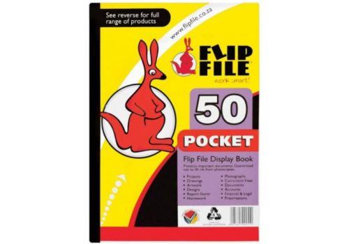 FLIP FILE KANGAROO A4 50 PG