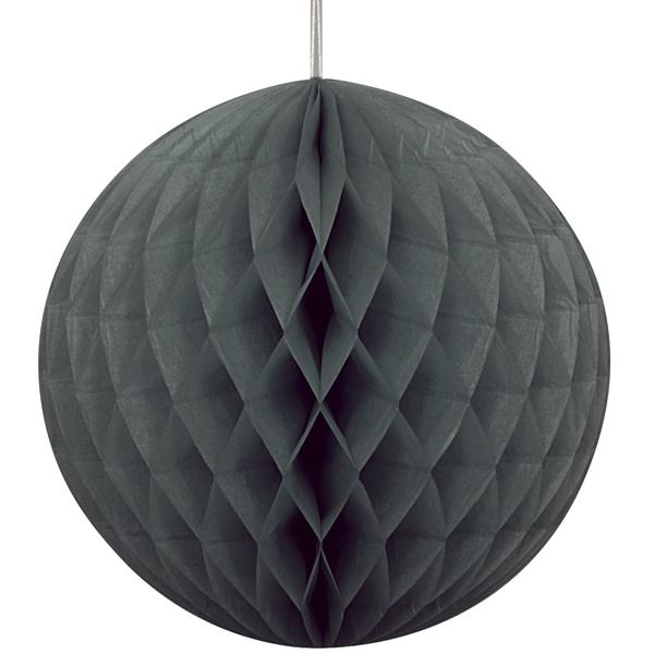 Black Paper Ball (20cm)