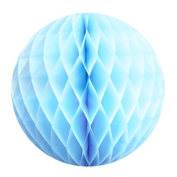 Light Blue Paper Ball (30cm)