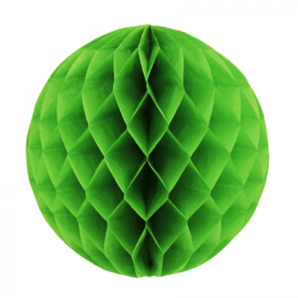 Lime Green Paper Ball (20cm)