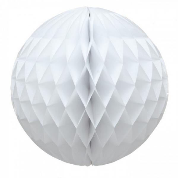 White Paper Ball (20cm)