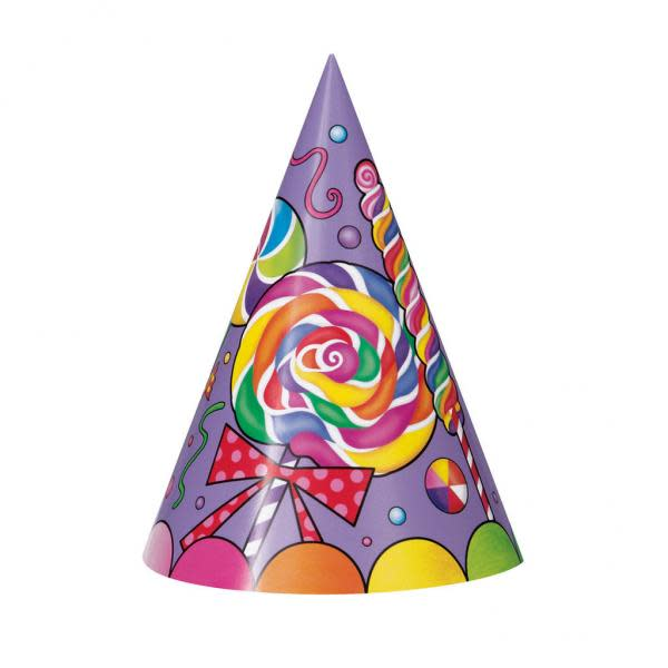 Candy Party Party Hats (8)