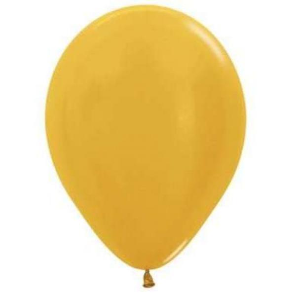 Metallic Gold Balloon (5)